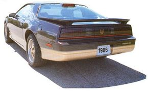 By 1986, Pontiac Firebird's top engine was a 210-hp Tuned Port Injection power plant.