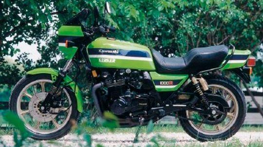 1982 Kawasaki KZ1000R