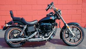 The 1982 Harley-Davidson FXB Sturgis was named for the famous biker gathering and is now a collector's piece. See more motorcycle pictures.