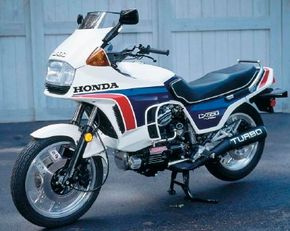 With its power and speed, the Honda CX650 T was a favorite among riders, though not among insurers. See more motorcycle pictures.