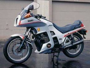 The Seca Turbo's power came from a pressurized double-overhead-cam 650 four-cylinder.