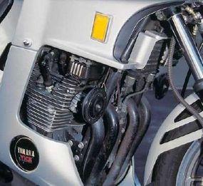 Seca mounted its turbocharger beneath the engine.