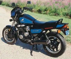 The Honda Nighthhawk 700S employed some of the styling elements of the day's superbikes, but looked less radical overall.