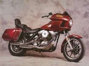 The 1984 Harley-Davidson FXRT offered an Evolution V2 motor. See more motorcycle pictures.