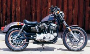 The XR-1000 Sportster's acceleration was unequaled by any other street motorcycle Harley had ever built.