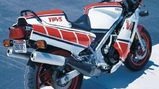 1985 Yamaha RZ 500
