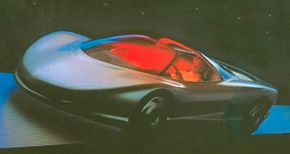 Image Gallery: Concept Cars The 1986 Chevrolet Corvette Indy concept car was another in the rich tradition of midengine idea cars that have tantalized Corvette fans for years. See more concept car pictures.
