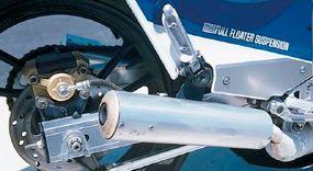 Six-spoke wheels featured very thin spokes.