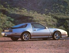 Turbo-styled cast aluminum wheels were the signature change in the 1986 Trans Am. See more sports car pictures.