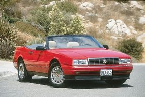 A more powerful 1993 Allante came out in early 1992 and served as the pace car for the Indianapolis 500.