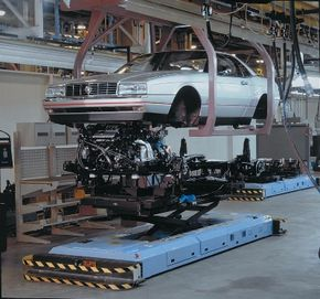 Pininfarina built the Allante body around the underbody and electrical parts from Detroit.