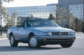 Cadillac offered 1990 Allante buyers the chance to save with a new soft-top-only version.