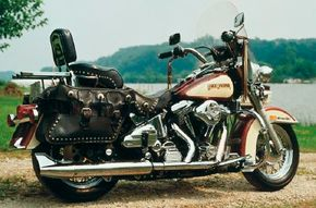 """The 1988 FLSTC set new standards for Harley's """"Back to the Future"""" models."""