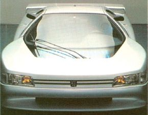 Image Gallery: Concept Cars The 1988 Peugeot Oxia concept car looked like a refugee from a futuristic race course. Its name comes from the Oxia Palus region of the planet Mars. See more concept car pictures.