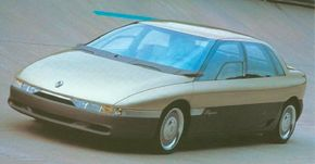 The 1988 Renault Megane concept car, despite its stunning technical features, went from idea to drivable prototype in less than eight months.