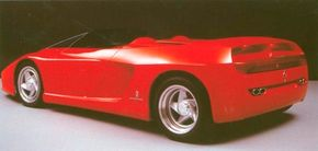 Drawing inspiration from past models, Ferrari and Pininfarina managed to create a vehicle both futuristic and traditional in the 1989 Ferrari Mythos concept car.