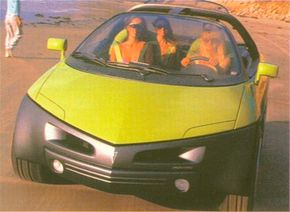 Image Gallery: Concept Cars The 1989 Pontiac Stinger concept car was more of a collection of accessories than a simple vehicle. See more pictures of concept cars.