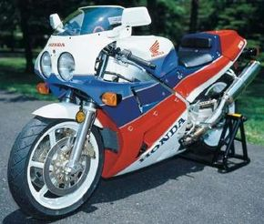 The RC30 looked like most any other sportbike, but it was basically a racing motorcycle. See more motorcycle pictures.