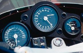 The high-revving RC30 could wind out to 12,500 rpm.