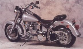 The 1990 Harley-Davidson Fat Boy helped ensure Harley's place atop the motorcycle world throughout the 1990s.