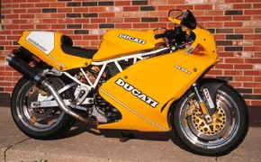 The 1993 Ducati Superlight lives up to its name, weighing in at less than 400 pounds. See more motorcycle pictures.