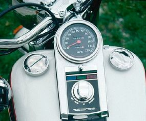 The plaque below the ignition switch lists the build-sequence number in the total production run of just 2,700 bikes.