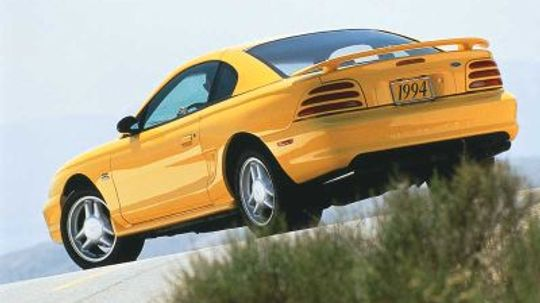 1994 1995 1996 1997 1998 Ford Mustang