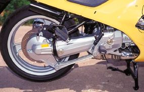 Antilock brakes were optional on the RSL.