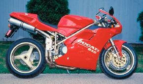Low production and high performance made the 1994 Ducati 916 an instant collector's item.