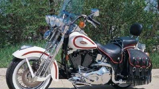 1997 Harley-Davidson FXSTS Heritage Springer