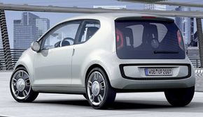 The 2007 Volkswagen up! concept car