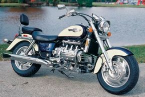 The Valkyrie's defining characteristic was its chrome-plated, smooth-as-silk Honda flat-six. See more motorcycle pictures.
