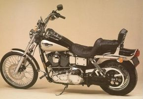 The 1998 Harley-Davidson FXDWG Wide Glide was aimed at Harley's loyal touring customers. See more motorcycle pictures.
