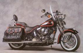 The design of the Harley-Davidson FLSTS Heritage Springer drew upon classic bikes.