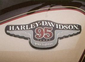 Tank badging says it all. The Sportster traced its roots to 1957.