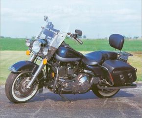 The 1999 Harley-Davidson Road King Classic continues to be one of the company's most popular models. See more motorcycle pictures.