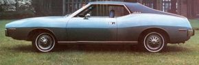 Probably the most sought-after Javelins today are the performance-oriented models, but a Javelin could be luxurious, too, as this 1974 coupe with vinyl roof indicates. See more classic car pictures.