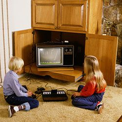 Is this what your den looked like in the early '80s?