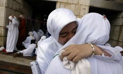 Just like in other faiths, comforting the bereaved is an important part of the Muslim mourning process.
