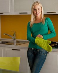 Before you start baking, make sure your kitchen is spotless and that you've got clean counters to work on.