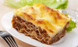 Lasagna is easy to freeze and heats up well.