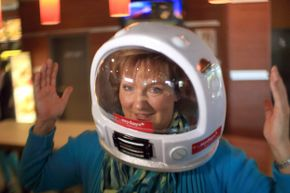 You can buy a seat to outer space, if your pockets are deep enough. Or you can win one at McDonald's, as Heike Duesterhoeft did in 2013. Her trip is slated for 2014.