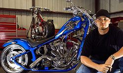 Your garage, where you keep your bike, can be transformed into the perfect man cave.