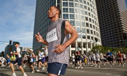 Enjoy yourself on race day, but don't get too excited when the starting gun goes off.