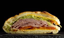 Sandwiches aren't your only option for leftover ham.