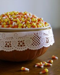 Candy corns may not be the best Halloween treat, but they make for sweet coordinating costumes.
