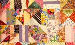 A handmade quilt is often a treasured piece of history.