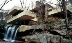One of Wright's most famous works, Fallingwater