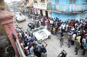 Violence can erupt in Haiti at any given moment.