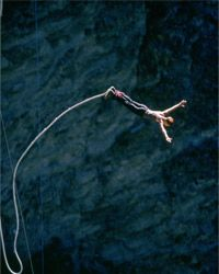 Bungee cords can help you secure your stuff AND jump off tall cliffs.